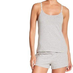 CALVIN KLEIN CAROUSEL HEATHER GREY PAJAMA SET